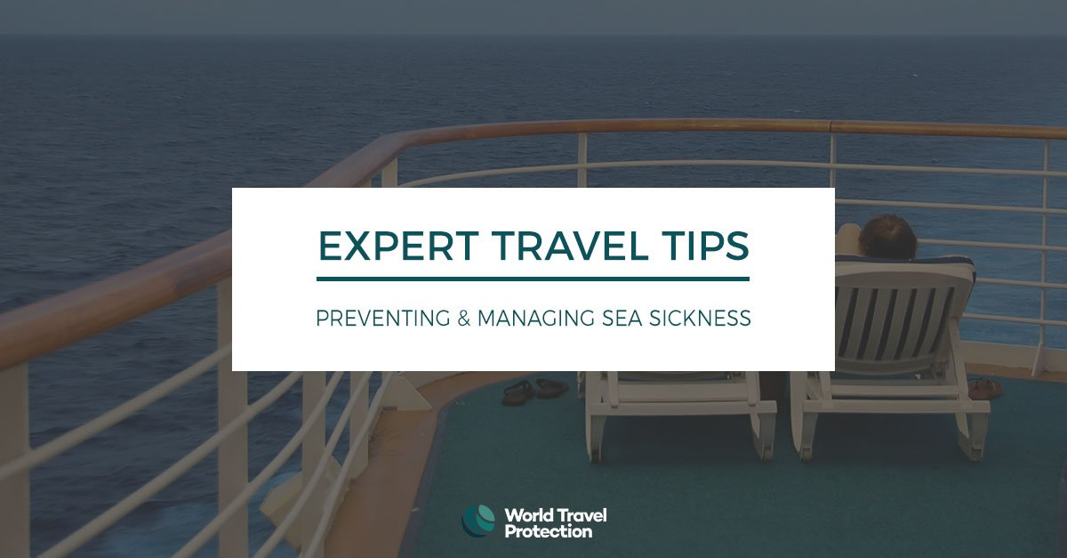 Preventing and managing sea sickness
